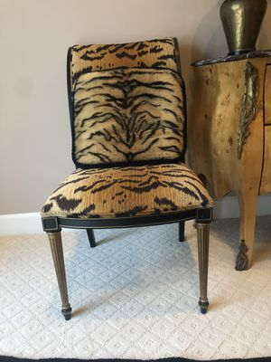Tiger Print Antique Chairs for Sale in Wayne, PA