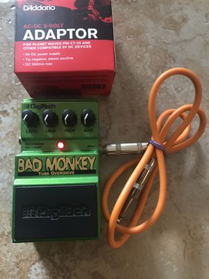 Bad monkey guitar pedal for Sale in Houston, TX