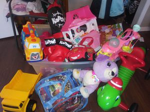 Large lot kids toys for Sale in Dallas, TX