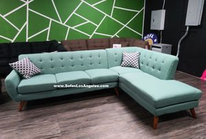 Real Showroom / Visit Us 😁 We Finance - Laguna Mid Century Style Couch Sofa Sectional for Sale in Los Angeles, CA