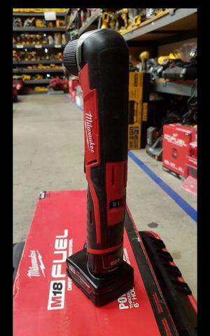 MILWUAKEE M12 CORDLESS VARIABLE SPEED ANGLE DRILL NEW for Sale in San Bernardino, CA