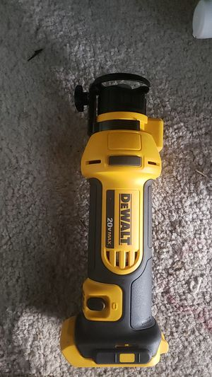 Dewalt rotozip hole saw tool only. Brand new never used for Sale in Las Vegas, NV