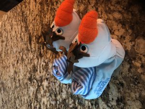 Olaf slippers! for Sale in Gahanna, OH