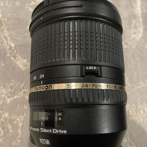 Tamron Fast Lens For Nikon FX for Sale in Glen Allen, VA