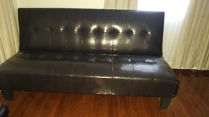Leather futon for Sale in Margate, FL