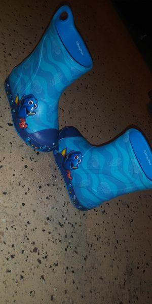 Kids finding Nemo rain boots for Sale in Houston, TX
