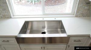 Farm sink quartz tile cabinets handles for Sale in Chula Vista, CA