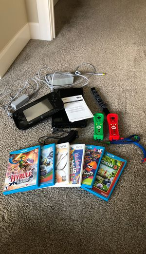 Wii U BUNDLE for Sale in Camas, WA