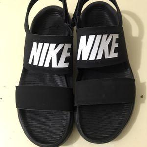 Womens Nike Tanjun Stap Sandles for Sale in Garland, TX