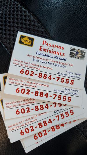 Emisiones Emissions for Sale in Phoenix, AZ