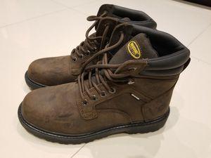 Wolverine Men's Clint Waterproof Steel Toe Work Boot, Size: 9.5, Brown for Sale in Miami, FL