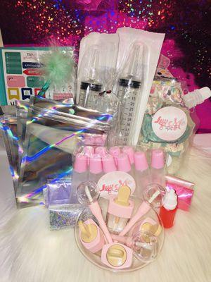 Boss up lipgloss start kit for Sale in Savannah, GA