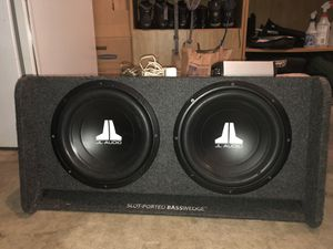 JL Audio CP212/ JX 500 Subwoofer System for Sale in Portland, OR