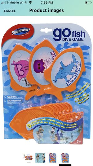 SwimWays Go Fish Dive Game for Sale in Garland, TX