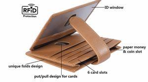New genuine leather slim minimalist front pocket bifold wAllet for Sale in Garden Grove, CA