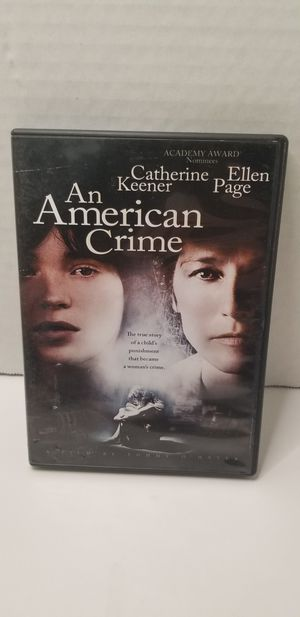 An american crime dvd for Sale in Piney Flats, TN