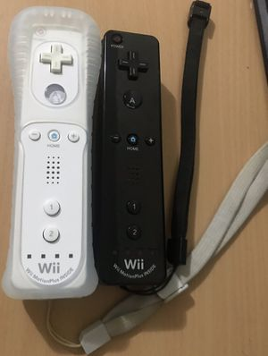 Two Nintendo WiiMotes With Wii Motion Plus for Sale in Reading, PA