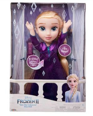Elsa frozen 2 singing doll NEW for Sale in Citrus Heights, CA
