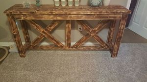Very nice custom console table.. for Sale in Columbus, OH