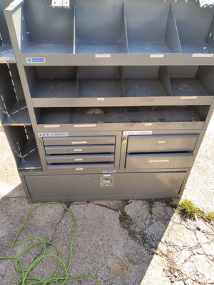 Tool boxes for a cargo van for Sale in Buffalo, NY