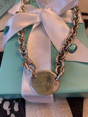 Tiffany & Co RTT Oval choker for Sale in Gaithersburg, MD