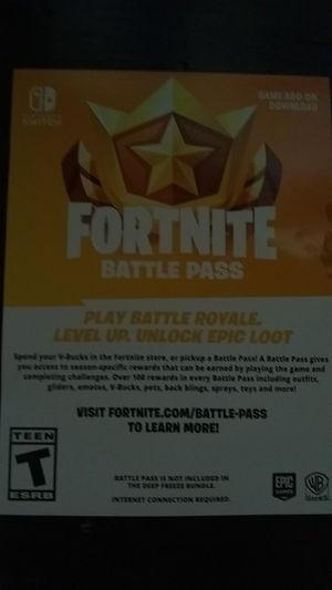 Books and Season 6 fortnite battle pass code for Nintendo switch for Sale in Phoenix, AZ