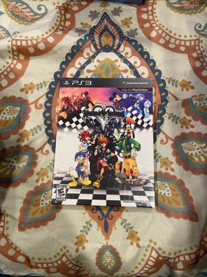 Kingdom hearts HD 1.5 remix ps3 for Sale in Brooklyn, NY