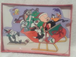Vintage Looney tunes 18 Xmas greeting cards for Sale in Weston, FL