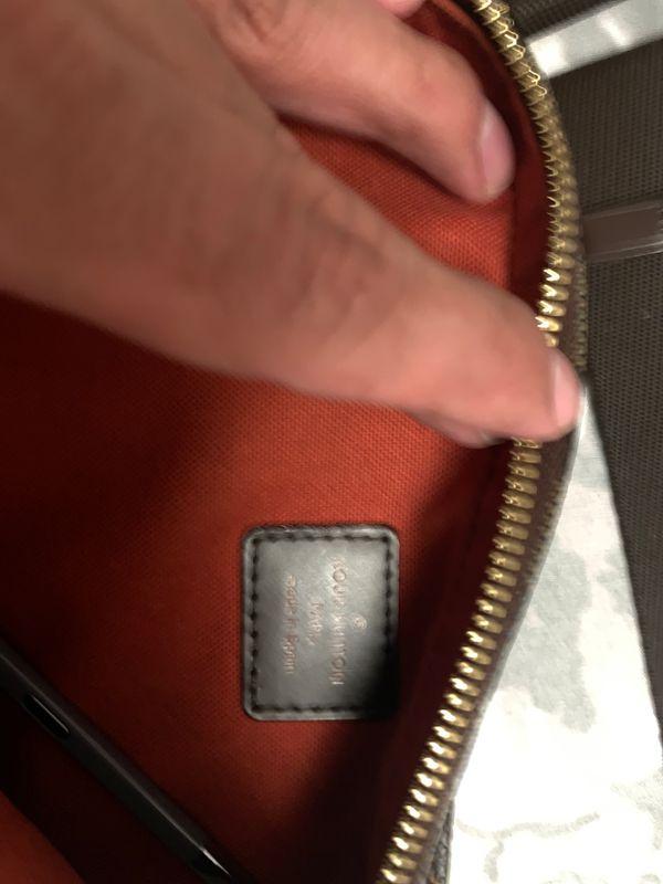 Authentic Louis Vuitton geronimos Damier waiste Bum Bag