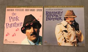 Pink Panther Set of 2 Deluxe Letter Box Edition Laser Discs for Sale in San Diego, CA