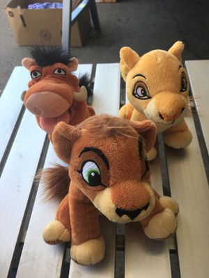 Lion King stuffed animals for Sale in Cottage Grove, MN