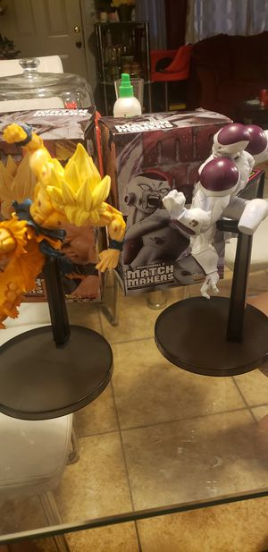 Dragonball z figures for Sale in Fontana, CA