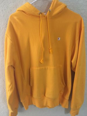 Champions yellow hoodie for Sale in Humble, TX