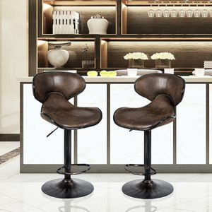 Set of 2 Adjustable Bar Stools Counter Height Chairs for Sale in Montclair, CA