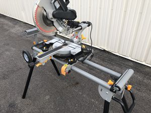 "12"" Miter Saw and Portable Stand for Sale in Groveport, OH"
