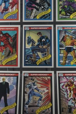 1990 Impel Marvel Universe Series Comic Cards Complete 1-162 All Near Mint for Sale in Strongsville,  OH