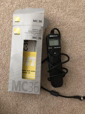 Nikon MC-36 Remote Cord for Sale in Brier, WA