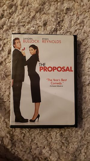 The Proposal DVD for Sale in San Diego, CA