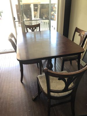 Duncan Phyfe table with chairs for Sale in Riverside, CA