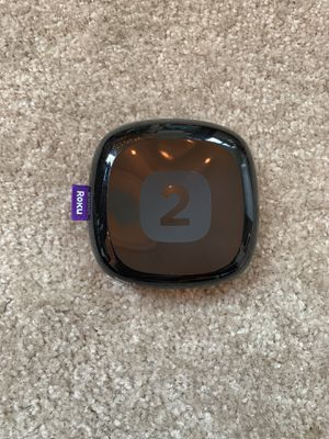 Roku 2 with remote, HDMI cable and power source for Sale in Portland, OR