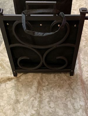 Firewood holder or magazine rack for Sale in Tinley Park, IL