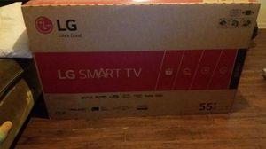LG TV smart 55 still new in the box for Sale in Nashville, TN