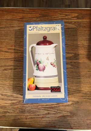 Pfaltzgraff Thermal Vacuum Coffee Carafe for Sale in Pasco, WA