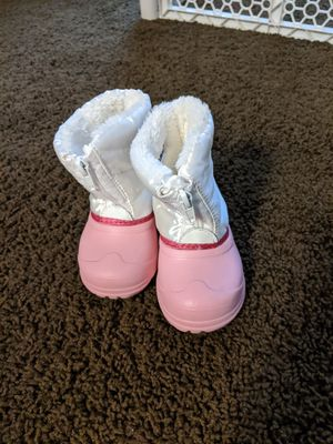 Toddler Girl Snow Boots for Sale in Ontario, CA