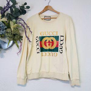Authentic Gucci GG Distressed Oversized Sweatshirt for Sale in La Habra, CA