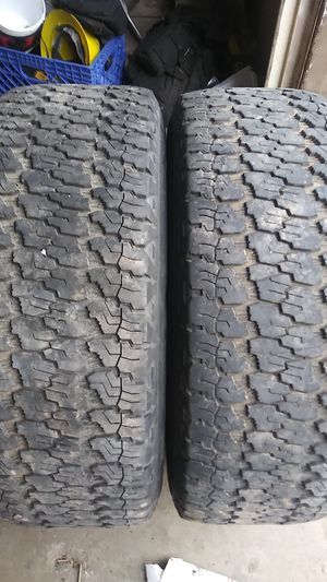 265 75 16 goodyear wrangler 10 ply for Sale in Payson, AZ