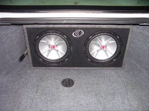 Kicker subs and box for Sale in Pittsburgh, PA