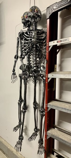 2 5ft skeletons for Sale in Willow Spring, NC