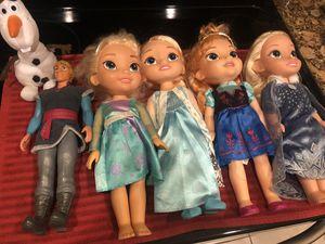 Frozen Dolls - Kids Toys for Sale in Homestead, FL
