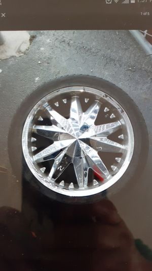 Rims and tires for sale. for Sale in Redwood City, CA